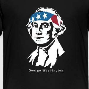 President George Washington American Patriot - Kids' Premium T-Shirt