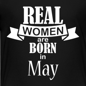 Real women are born in May - Kids' Premium T-Shirt