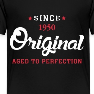Since 1950 Original Aged To Perfection - Kids' Premium T-Shirt