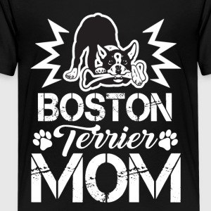 Boston Terrier Dog Mom Owner Dogs Tee Shirt - Kids' Premium T-Shirt