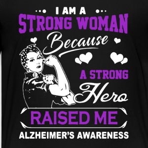 I Am A Strong Woman A Strong Hero Raised Me Shirt - Kids' Premium T-Shirt