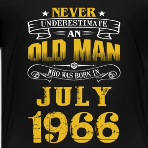 An Old Man Who Was Born In July 1966 - Kids' Premium T-Shirt