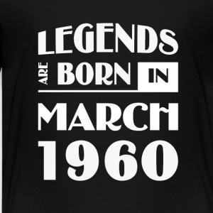 Legends are born in March 1960 - Kids' Premium T-Shirt