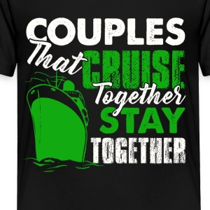 Couples Cruise Together Shirt - Kids' Premium T-Shirt