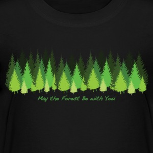 May the Forest Be with You - Kids' Premium T-Shirt