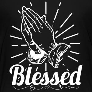 Blessed (White Letters) - Kids' Premium T-Shirt