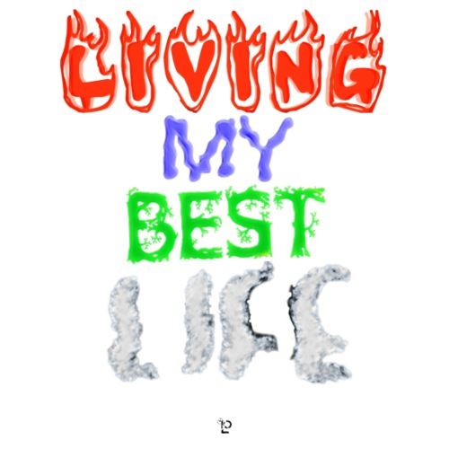 Living My Best Life - Kids' Premium T-Shirt