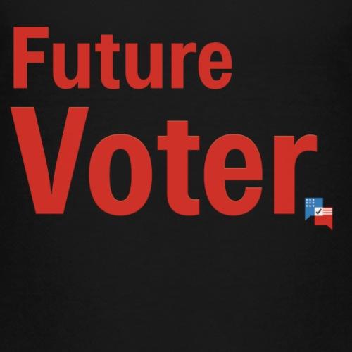 Future Voter (in red) - Kids' Premium T-Shirt