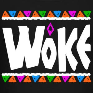 Woke - Tribe Design (White Letters) - Kids' Premium T-Shirt