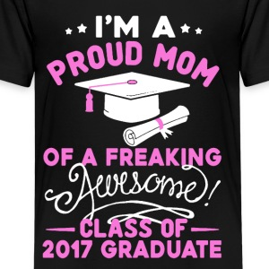 Mom Of An Awesome Graduate Tee Shirt - Kids' Premium T-Shirt