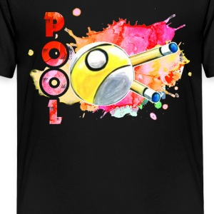 POOL PLAYER TEE SHIRT - Kids' Premium T-Shirt