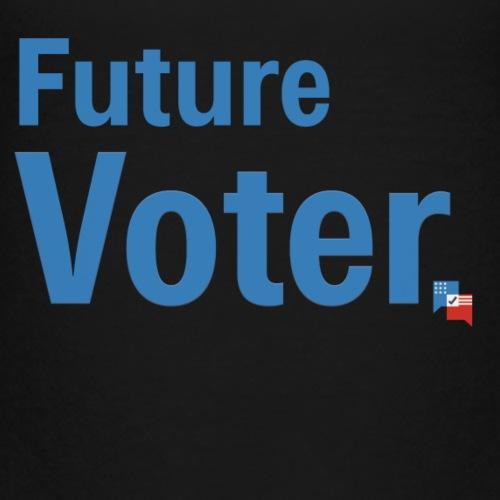 Future Voter (in blue) - Kids' Premium T-Shirt