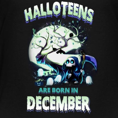 HALLOWEEN TEENAGER BORN IN DECEMBER TSHIRT - Kids' Premium T-Shirt
