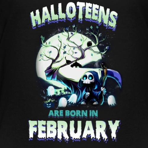 HALLOWEEN TEENAGER BORN IN FEBRUARY TSHIRT - Kids' Premium T-Shirt