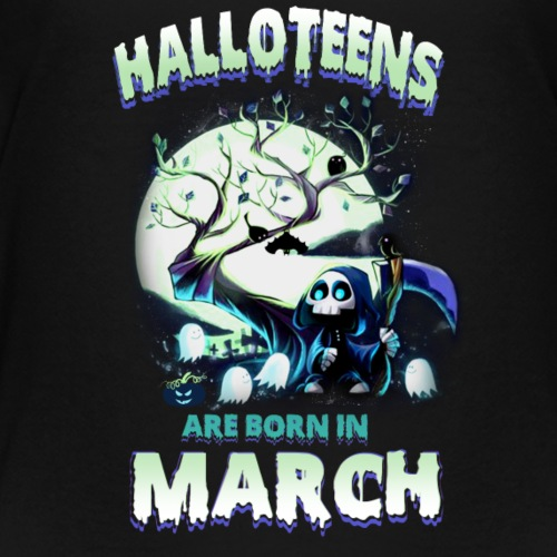 HALLOWEEN TEENAGER BORN IN MARCH TSHIRT - Kids' Premium T-Shirt