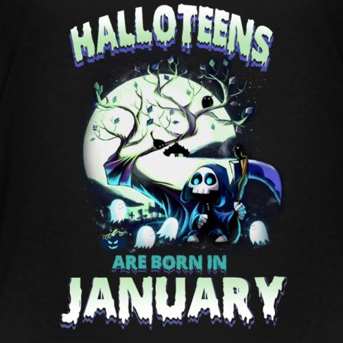 HALLOWEEN TEENAGER BORN IN JANUARY TSHIRT - Kids' Premium T-Shirt
