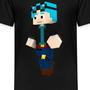 dantdm and the enchanted crystal - Kids' Premium T-Shirt