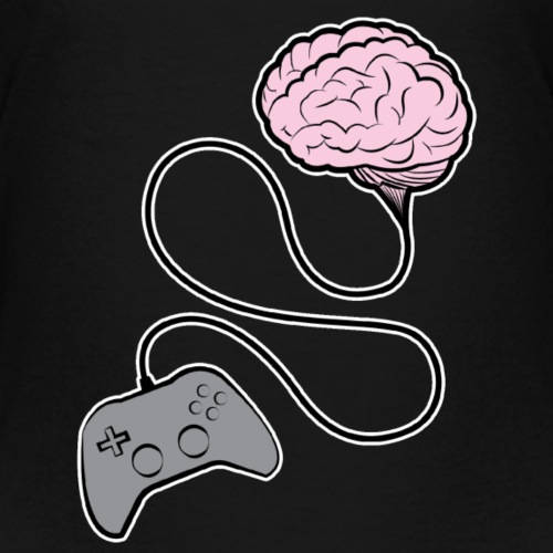 Gamer Brain - Kids' Premium T-Shirt