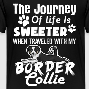 SWEETER BORDER COLLIE TEE SHIRT - Kids' Premium T-Shirt