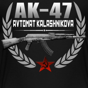 AK 47 RUSSIAN RIFLE - Kids' Premium T-Shirt