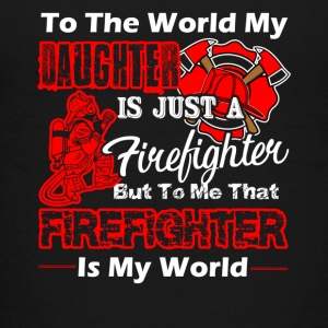 MY DAUGHTER IS FIREFIGHTER - Kids' Premium T-Shirt