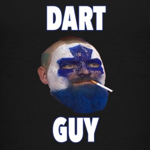 Dart Guy Funny Toronto Maple Leaf Tee Shirt - Kids' Premium T-Shirt