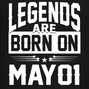 Legends are born on May 01 - Kids' Premium T-Shirt