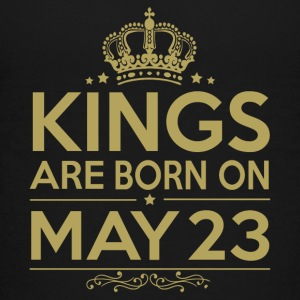 Kings are born on May 23 - Kids' Premium T-Shirt