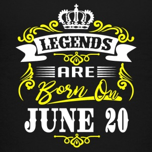 Legends are born on June 20 - Kids' Premium T-Shirt