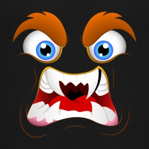 angr_monster_face-01 - Kids' Premium T-Shirt