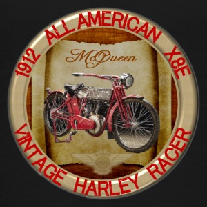 1912-X8E All American Vintage Motorcycle - Kids' Premium T-Shirt