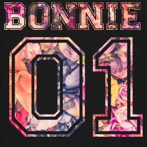 Bonnie_01_vintage_flower_bunt - Kids' Premium T-Shirt