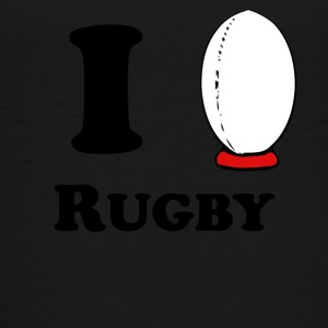 I Heart Rugby - Kids' Premium T-Shirt
