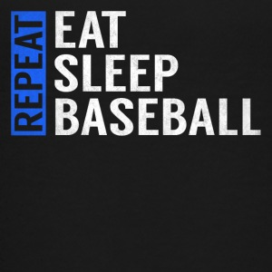 Eat Sleep Baseball Repeat Funny Quote Gag Gift - Kids' Premium T-Shirt