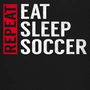 Eat Sleep Soccer Repeat Funny Sports Quote Gag - Kids' Premium T-Shirt