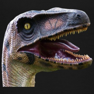 velociraptor head - Kids' Premium T-Shirt