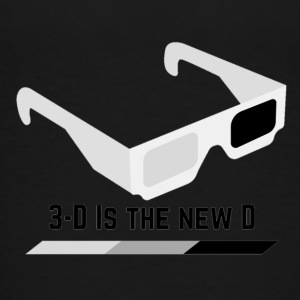 3D IS THE NEW D* - Kids' Premium T-Shirt