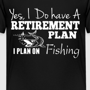Plan On Fishing Tee Shirt - Kids' Premium T-Shirt