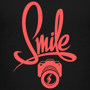positive-smile-photo-camera - Kids' Premium T-Shirt