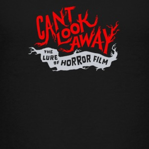 Cant look away the lure of horror - Kids' Premium T-Shirt