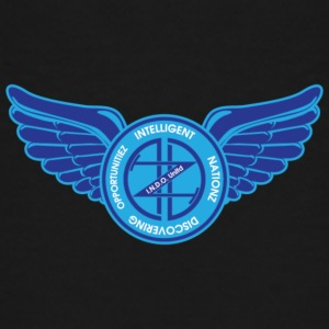 Winged Out Blue/White - Kids' Premium T-Shirt