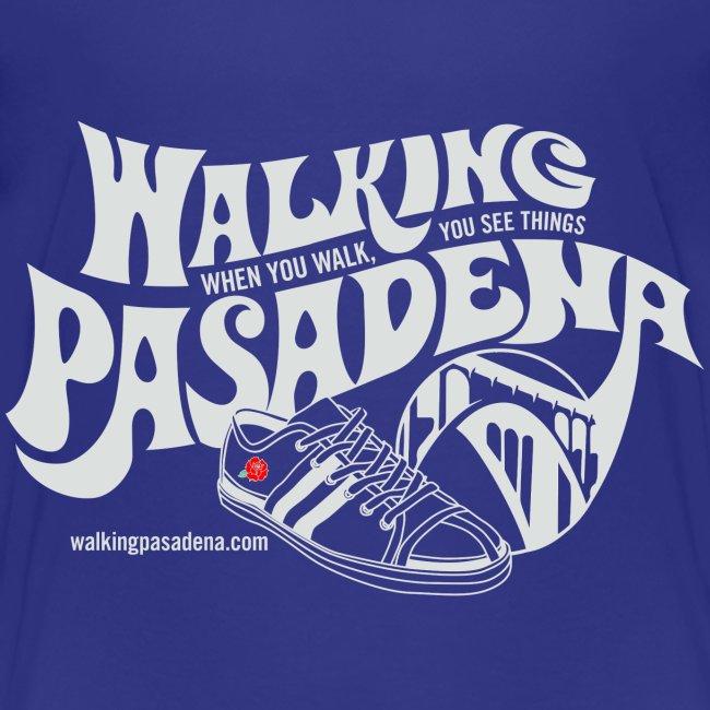 Walking Pasadena Roll-Sleeve Women's T-shirt