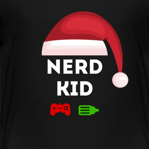 Nerd Kid Santa - Kids' Premium T-Shirt