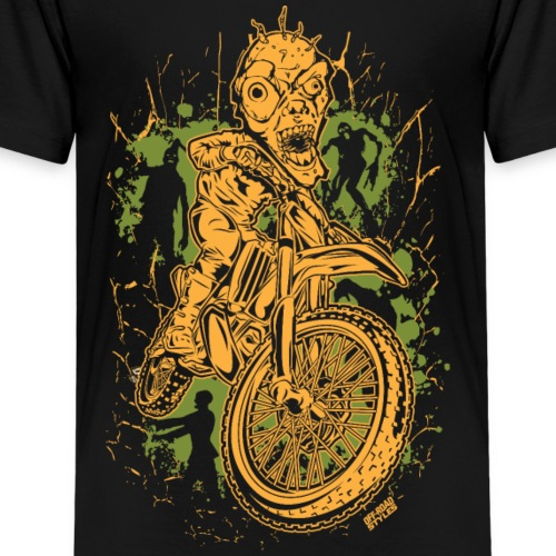 Motocross Halloween - Kids' Premium T-Shirt