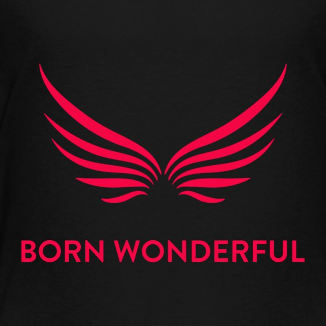 Red Born Wonderful Logo