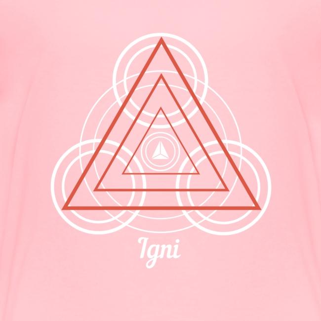 """Igni"" Fire Element Alchemy Diagram"