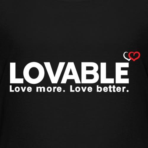 Lovable - Kids' Premium T-Shirt