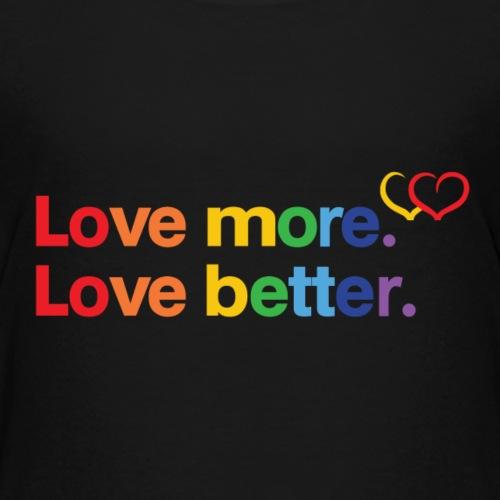 Be Proud of Love - Kids' Premium T-Shirt