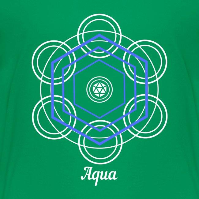 """Aqua"" Water Element Alchemy Design"