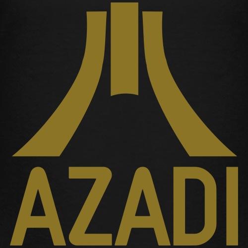 Azadi retro stripes - Kids' Premium T-Shirt